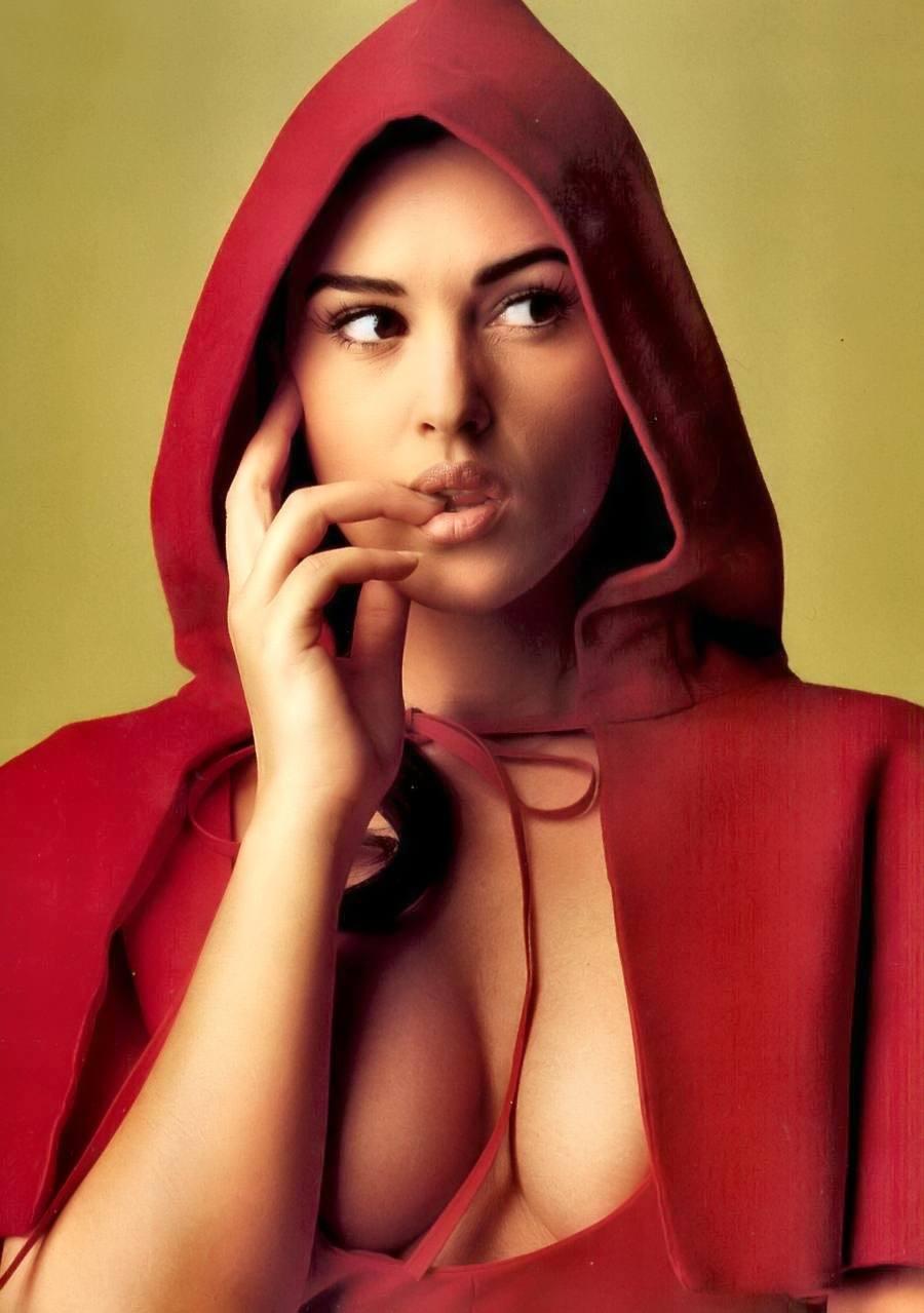 Así hasta a mí me dan ganas de comerme a Caperucita Roja
