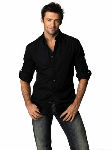 Hugh Jackman Posing