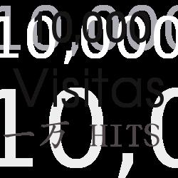 10 mil visitantes