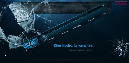 Imagen de error Blizzard