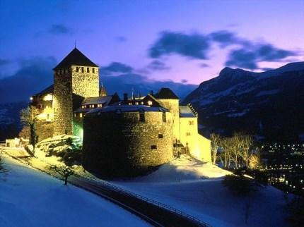 Castelo Vaduz Liechtenstein