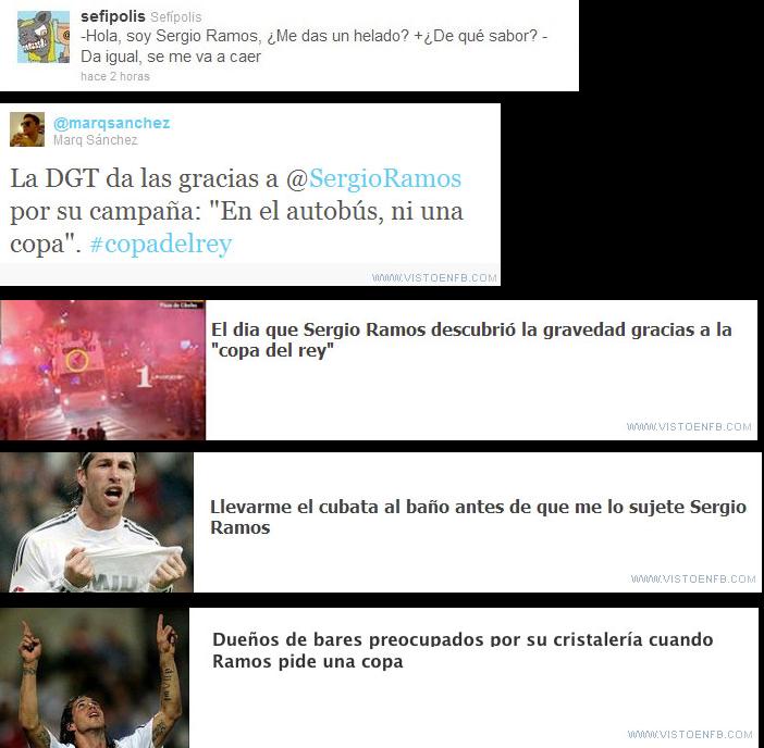El día de Sergio Ramos
