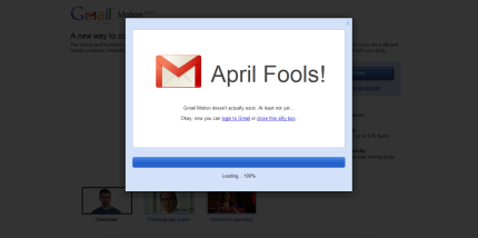 Gmail Motion